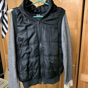 JET zip up sweatshirt jacket medium